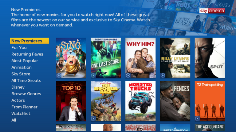 Your new and improved sky sky community for Find and design tv show