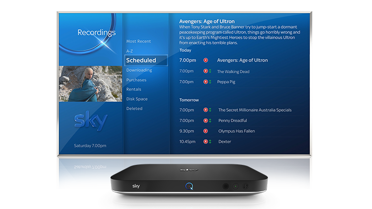 how to close pages on sky elite 5