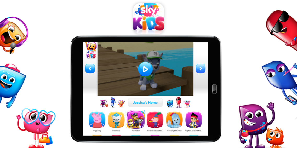 Image: Sky Kids app: Won't somebody please think of the children?!