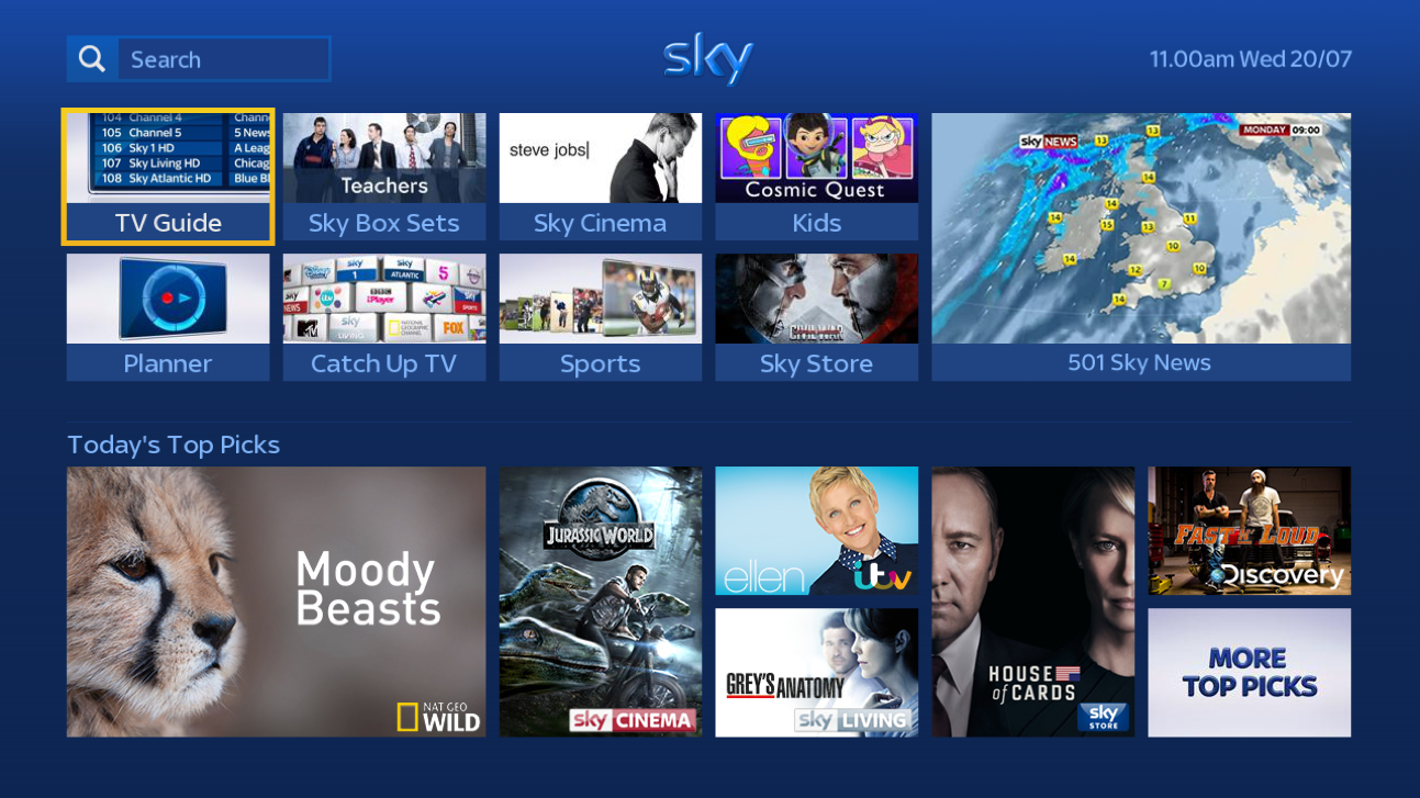 Image: New Sky+ features coming to a box near you