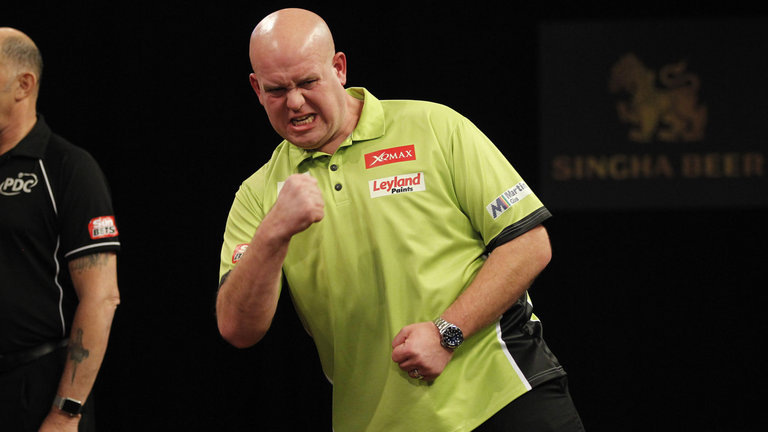 Image: Can anyone stop Michael van Gerwen from winning the Worlds?
