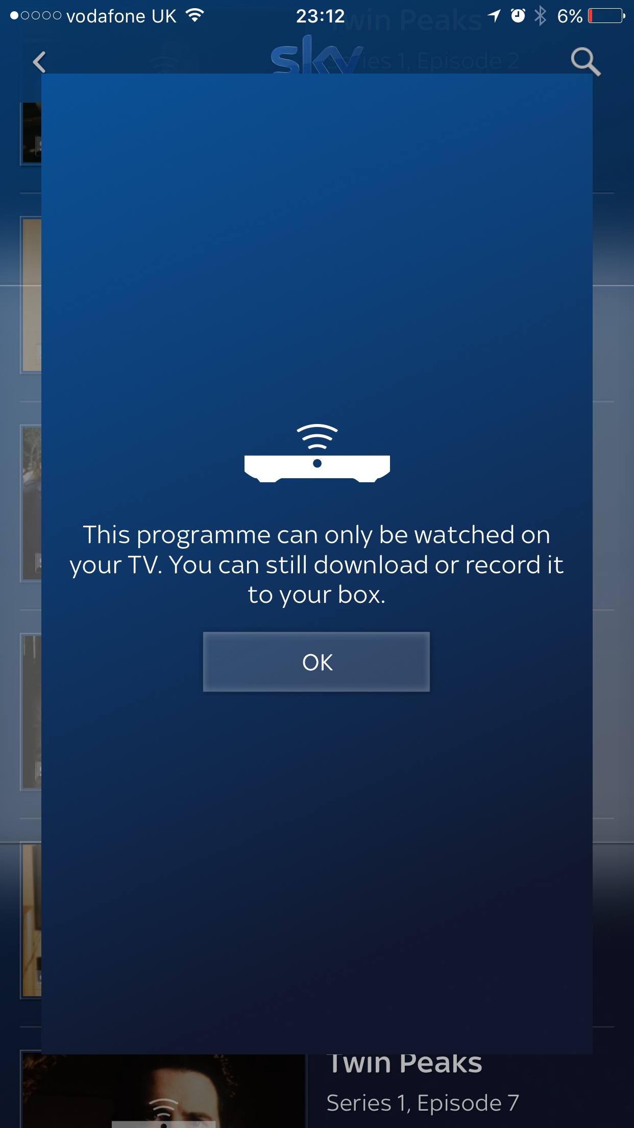 This programme can only be watched on your tv you - Can you watch sky box office on sky go ...