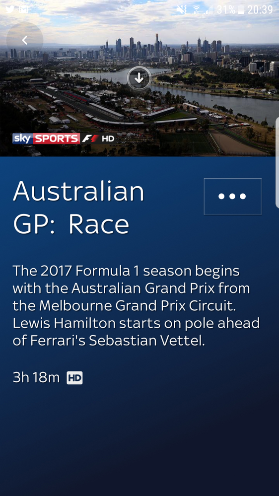 Re this programme can only be watched on your tv - Can you watch sky box office on sky go ...