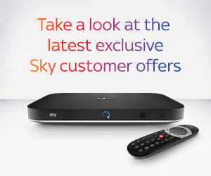Take a look at the latest exclusive Sky customer offers