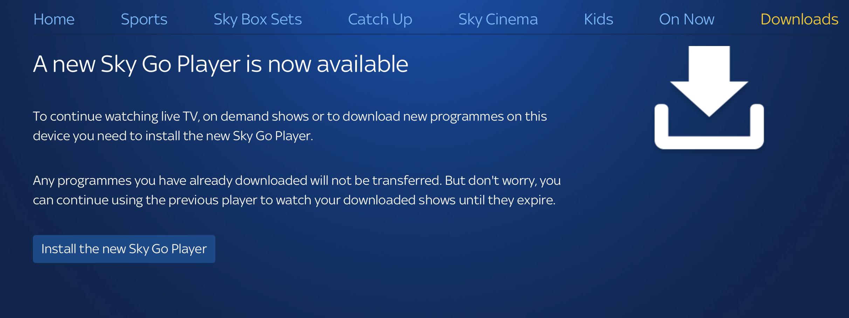 Answered: Sky Go - Error Code: 9903 on MacBook Pro (New Sky