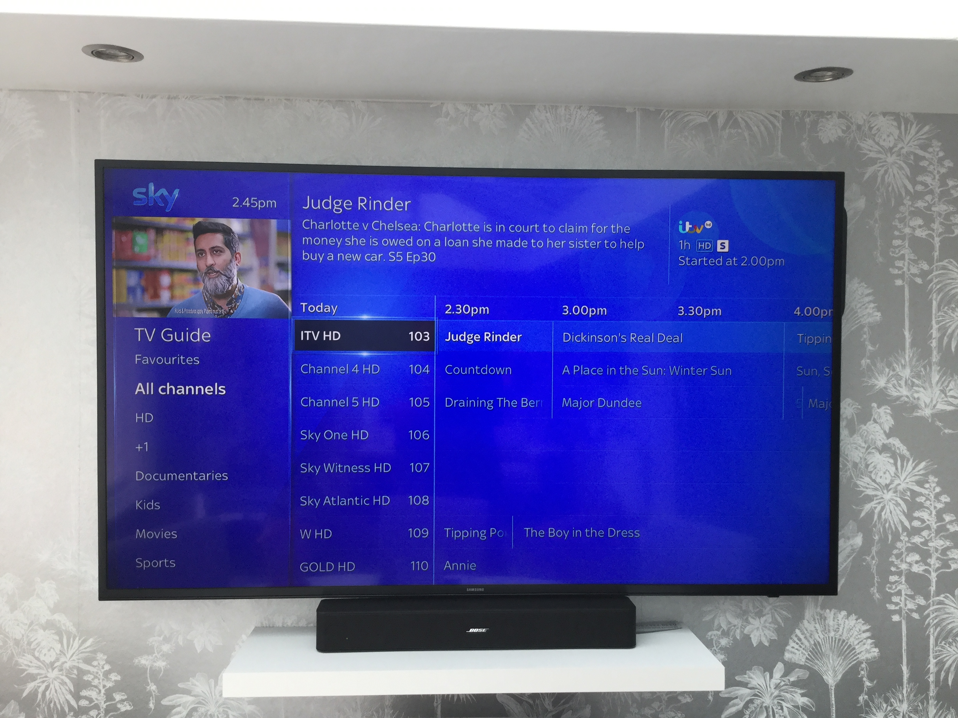 Sky Q TV Guide is blank for certain channels? - Sky Community