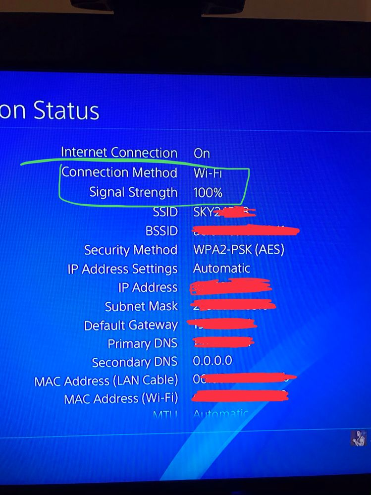 Terrible lag making online gaming impssible on PS4 - Sky
