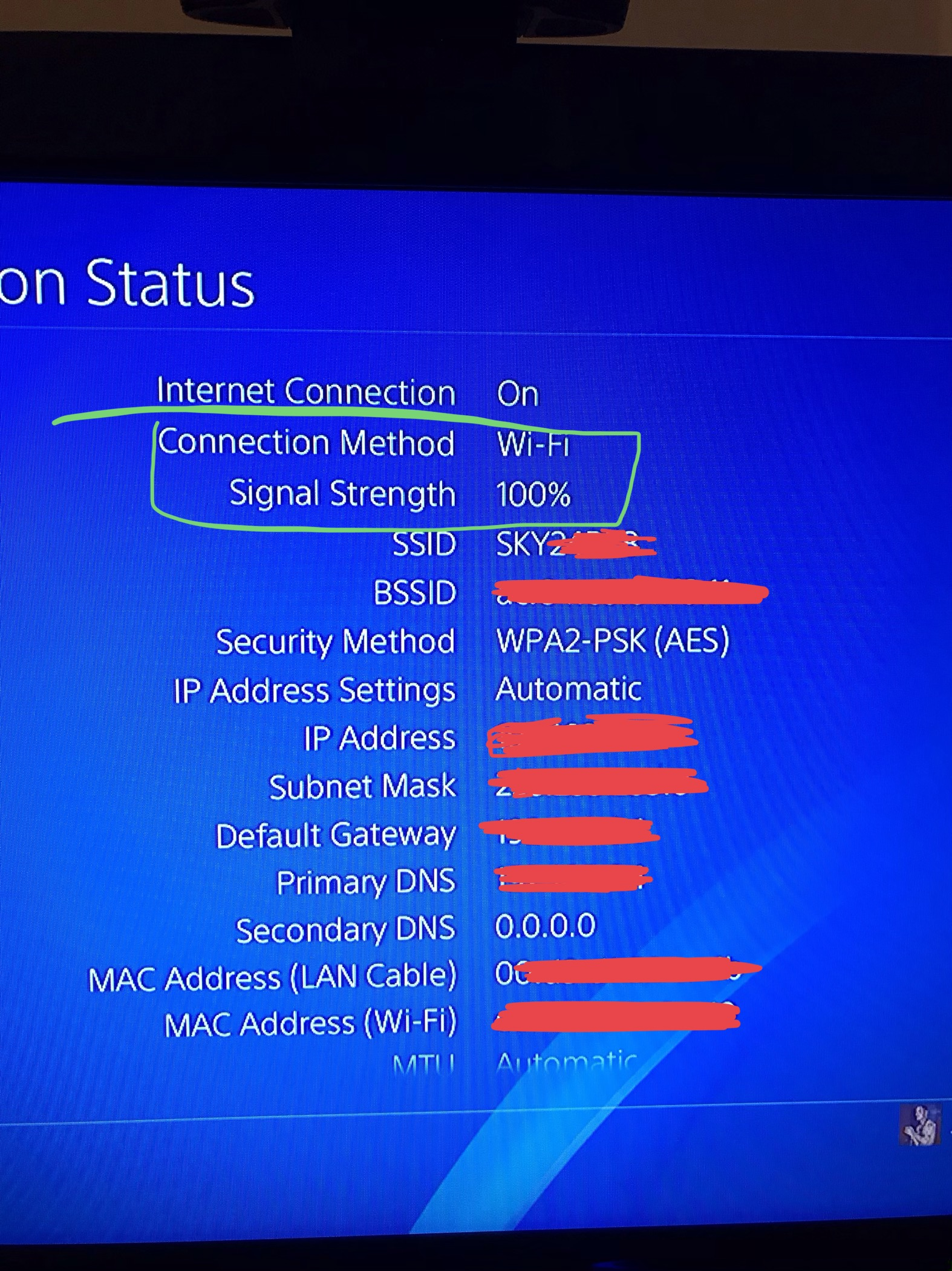 Terrible lag making online gaming impssible on PS4 - Sky Community