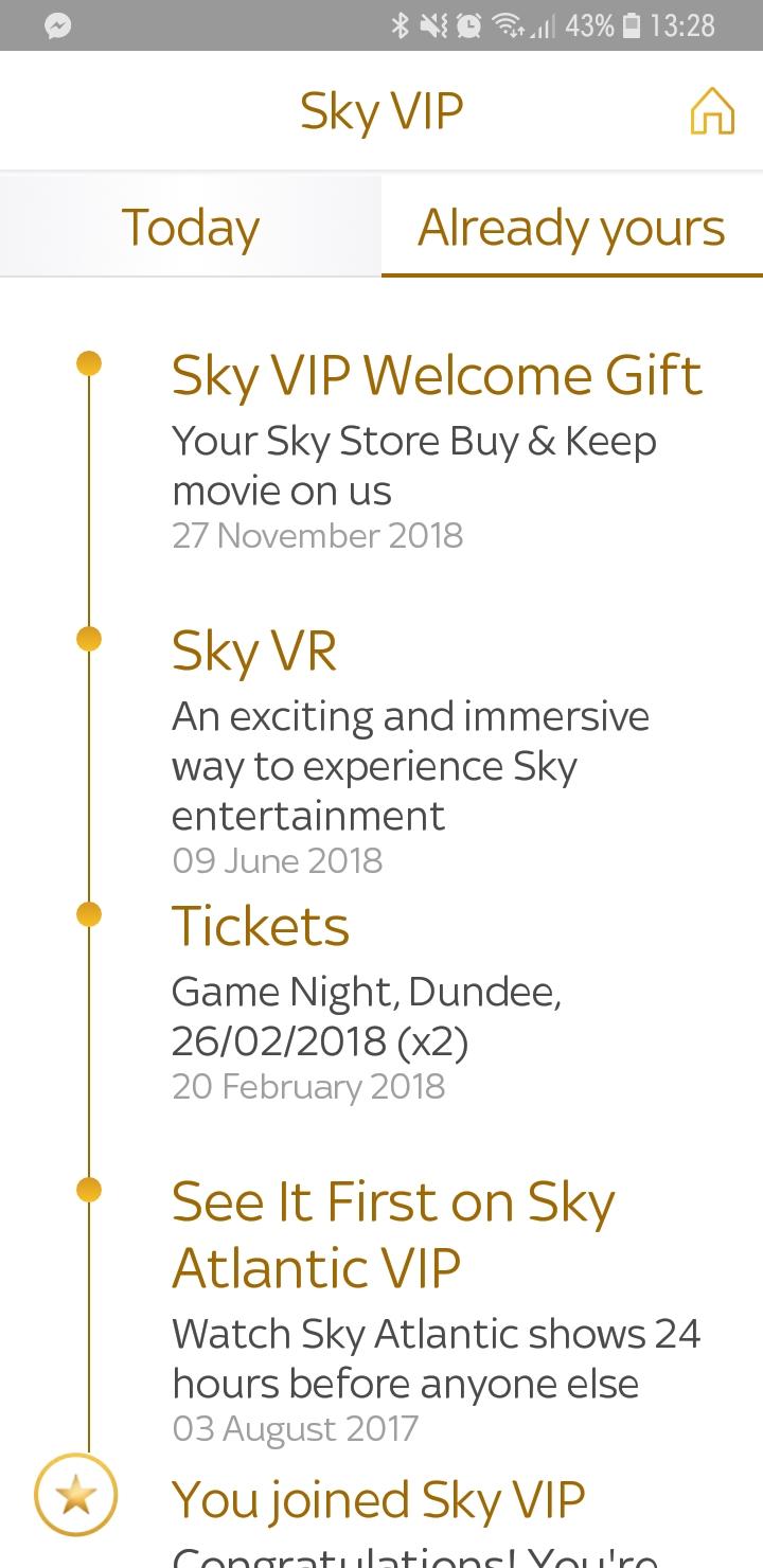 Free movie sky VIP - Sky Community