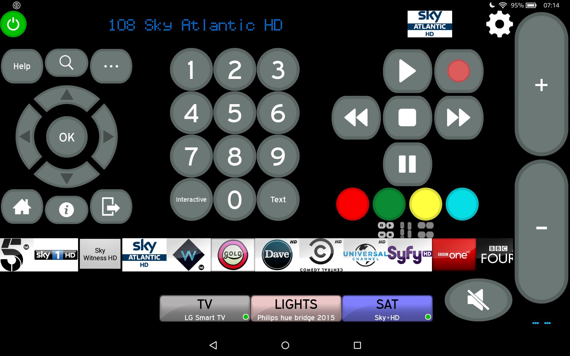 Answered: Use smartphone as a controller like skyhd - Sky