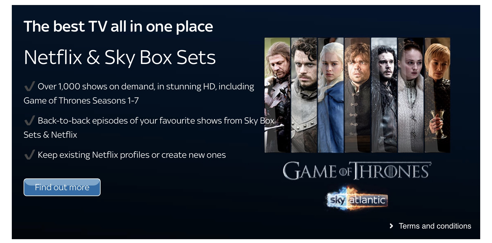 Sky Box Sets Game Of Thrones