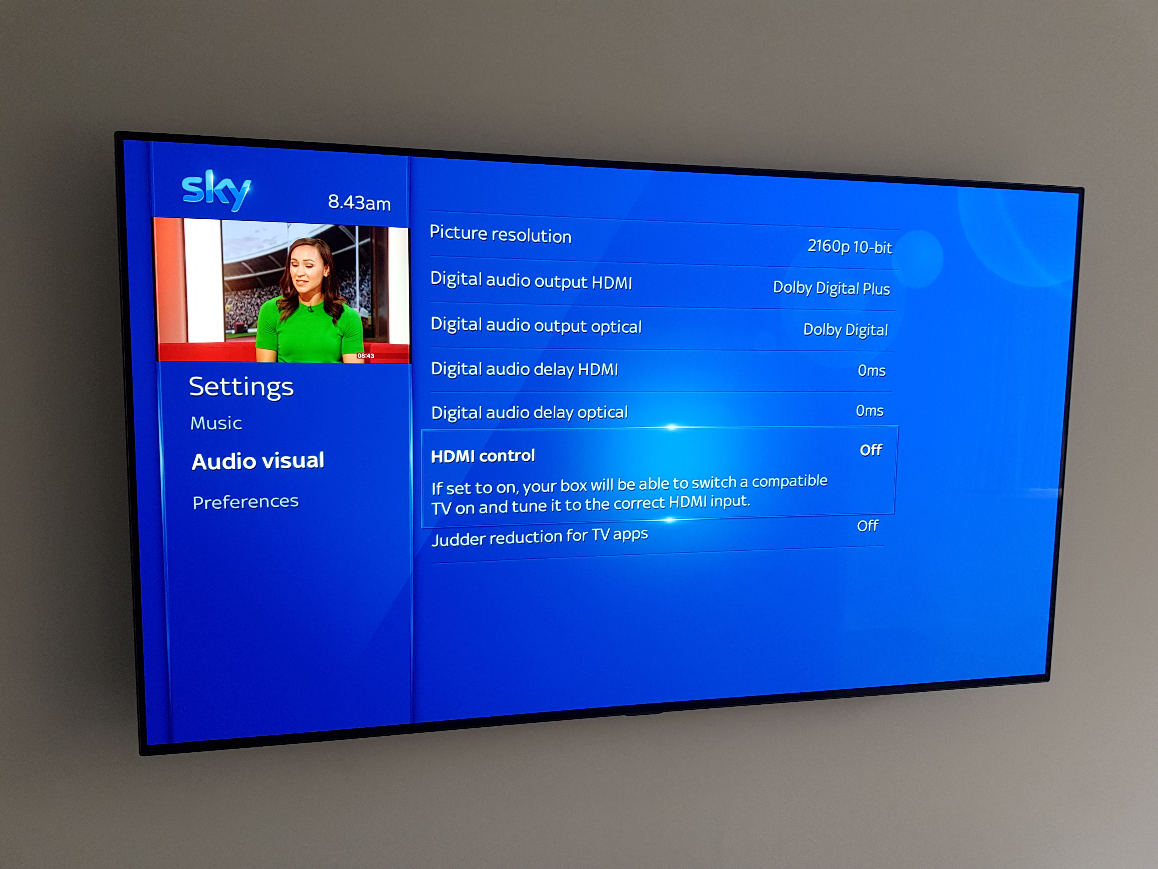 Answered: Sky Q HDMI or HDCP Issue with Picture Loss - Sky Community