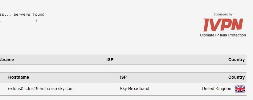 Answered: Sky router ignoring dns settings - Page 11 - Sky