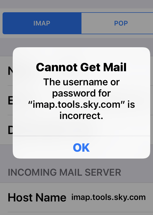 Create A Sky Email Account