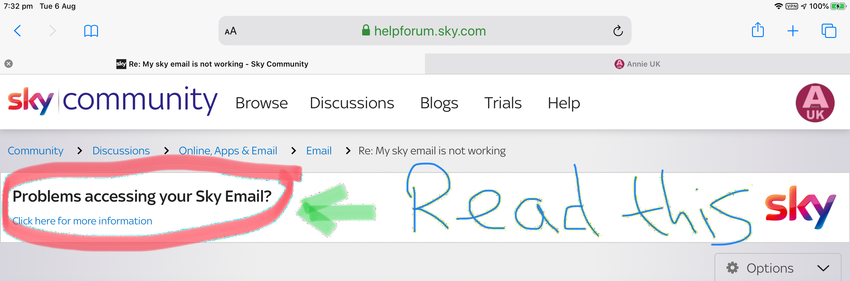 Answered Problems With Sky Email Sky Community