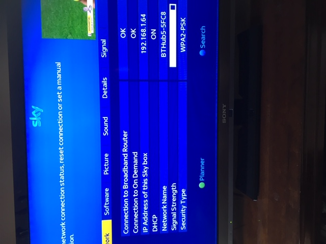 Answered: Sky on demand not connecting - sky plus box - Sky