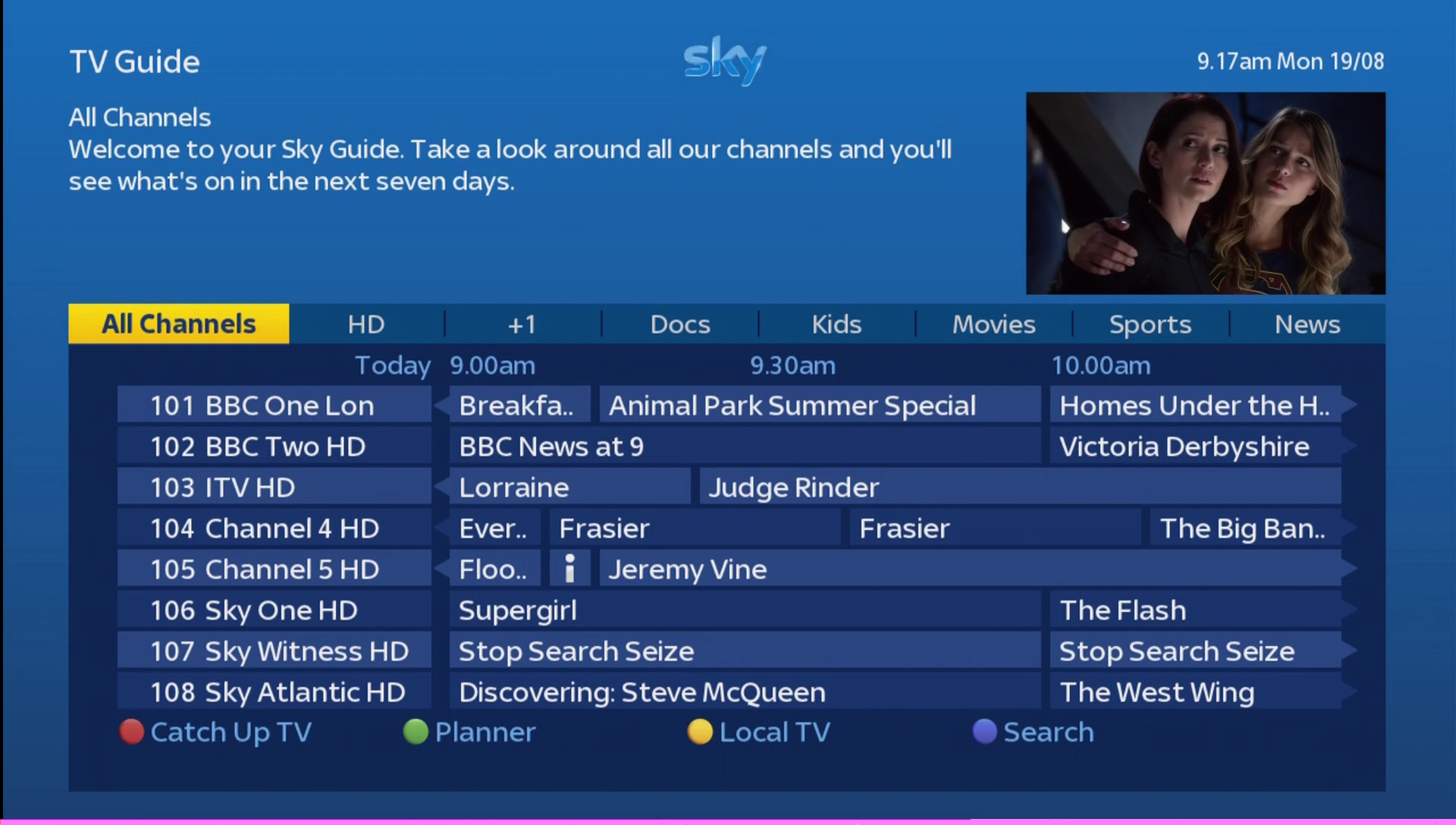 Sky Tv Guide