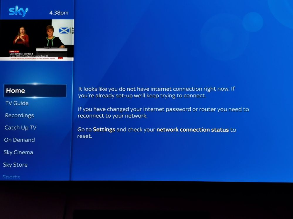 Re: SkyQ keeps disconnecting from internet - Page 49 - Sky ...