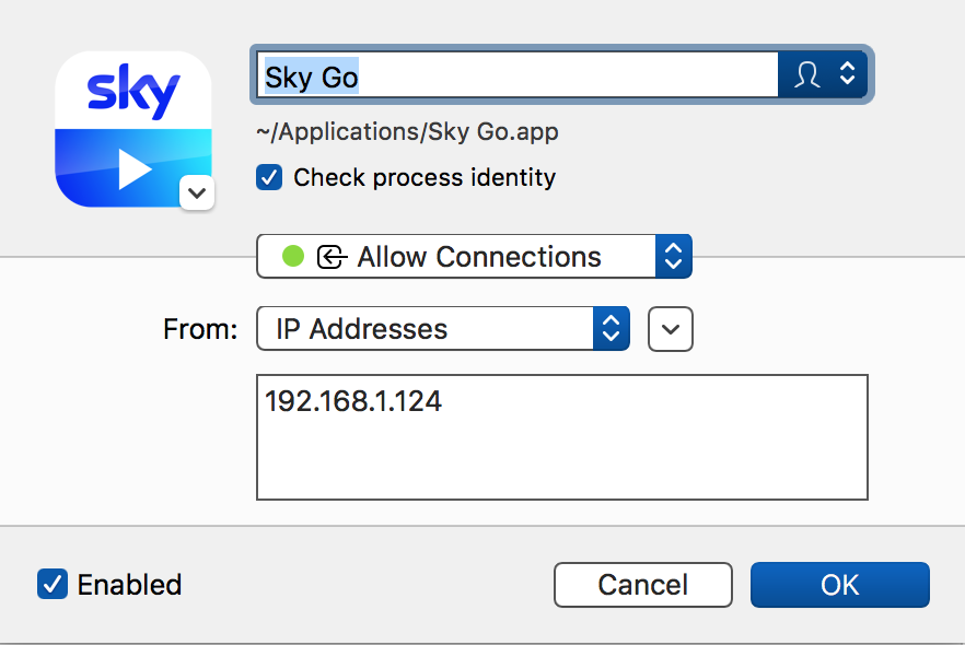 Sky Go Problems