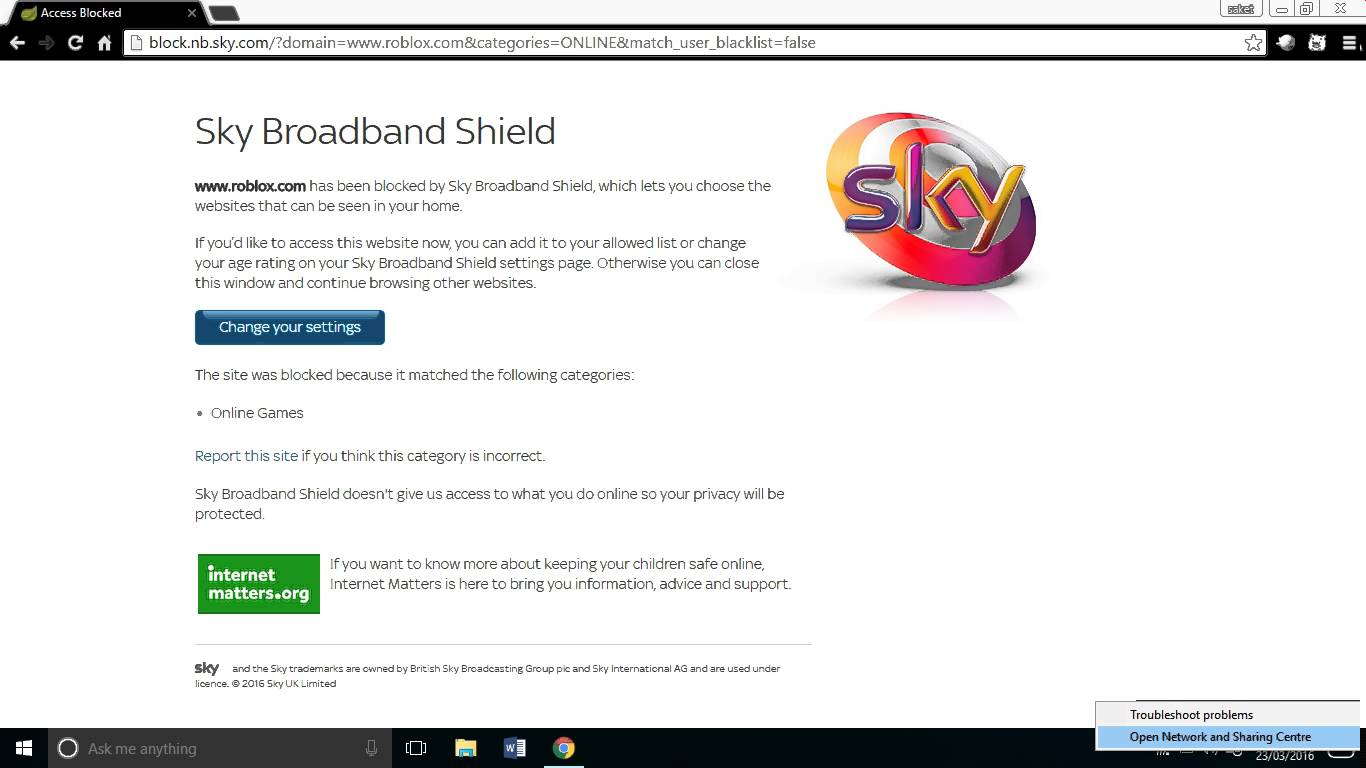 Answered blocked sites roblox sky community ccuart Images