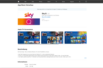 Hell Freezed Over Sky Q Arrives In Germany To A Sky Community